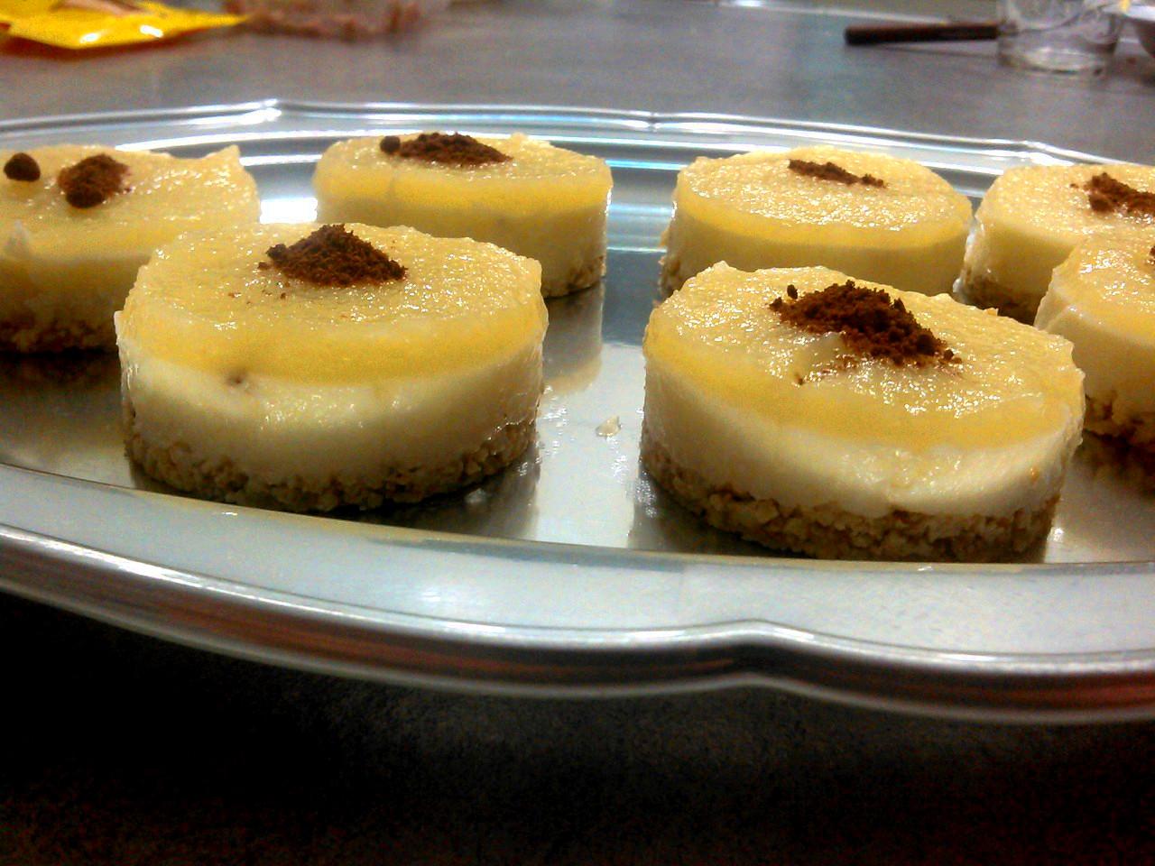 Cheesecake del contadino