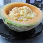 Riso al melone o melone di riso?